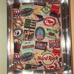Hard Rock Cafe passport case. Never used.